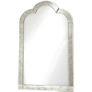 Smartstuff Genevieve Venetian Mirror with Antique Mirror Outer Frame