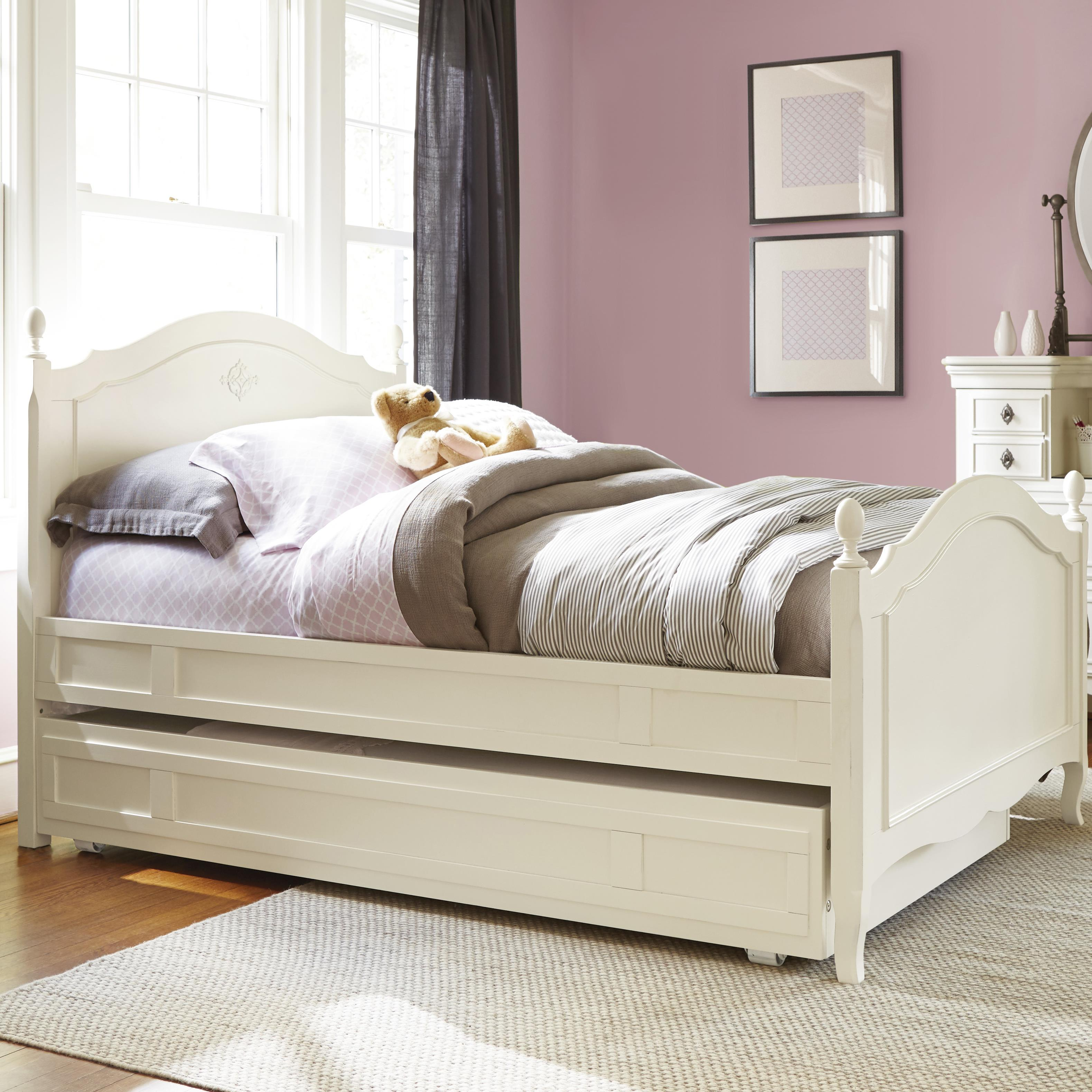 Smartstuff Genevieve Twin Reading Bed with Trundle - Item Number: 434A038+60