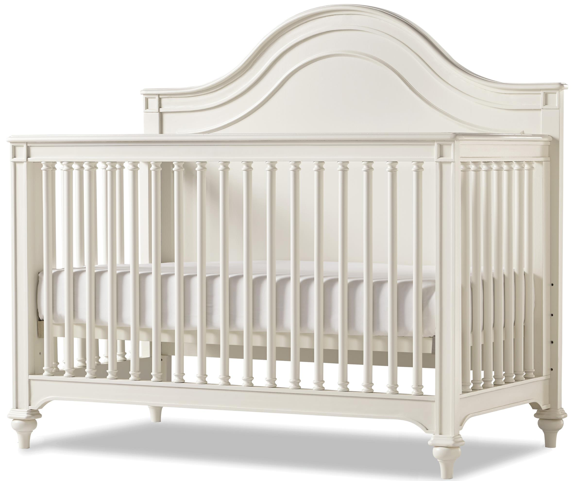 Smartstuff Genevieve Convertible Crib with Toddler Rail - Item Number: 434A310+05