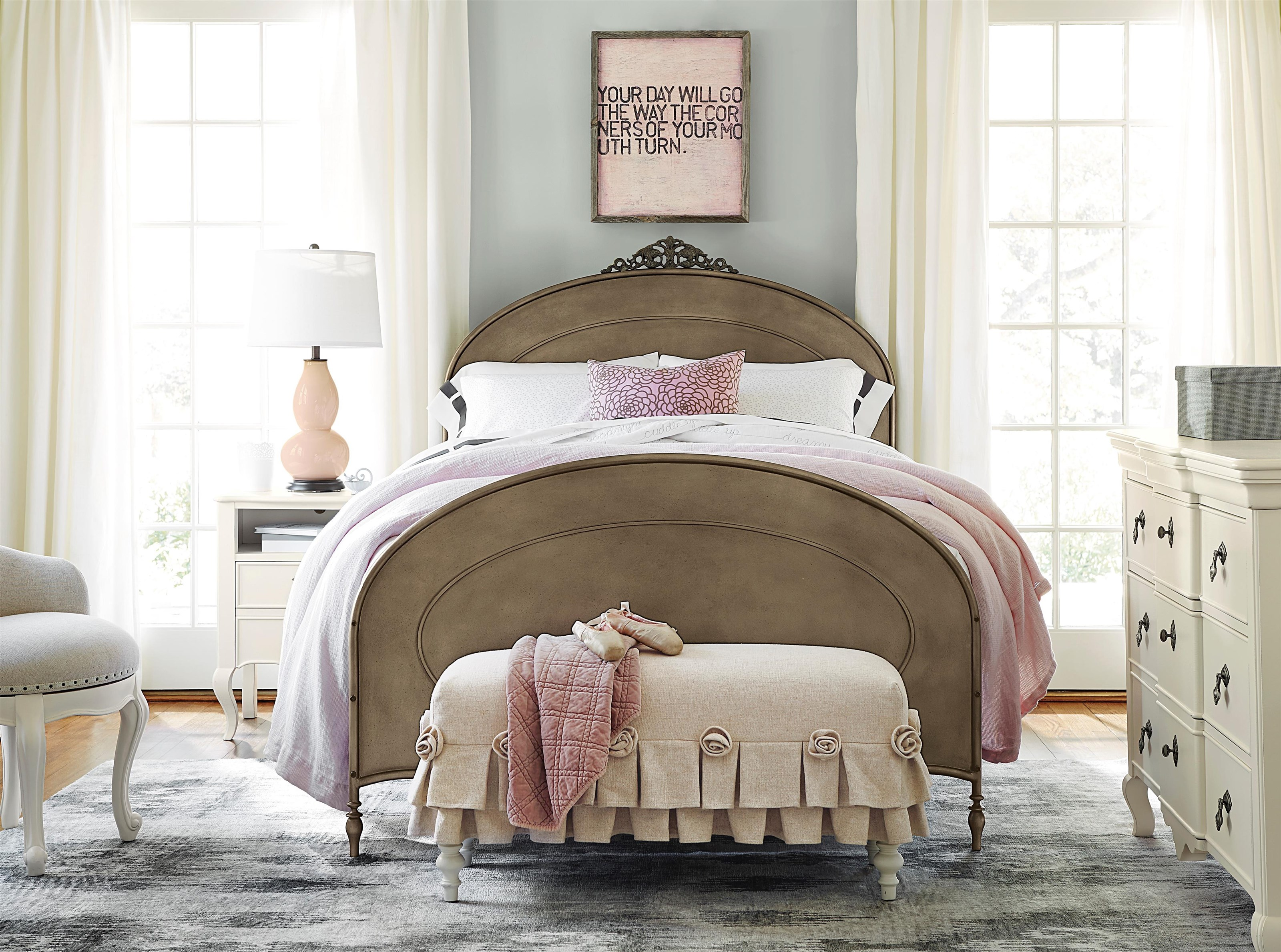 Morris Home Furnishings Penelope Penelope Twin Bed - Item Number: 615697050