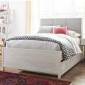Universal Kids Smartstuff Modern Spirit Full Complete Upholstered Bed w/ Trundle - Item Number: 8361042+8361060