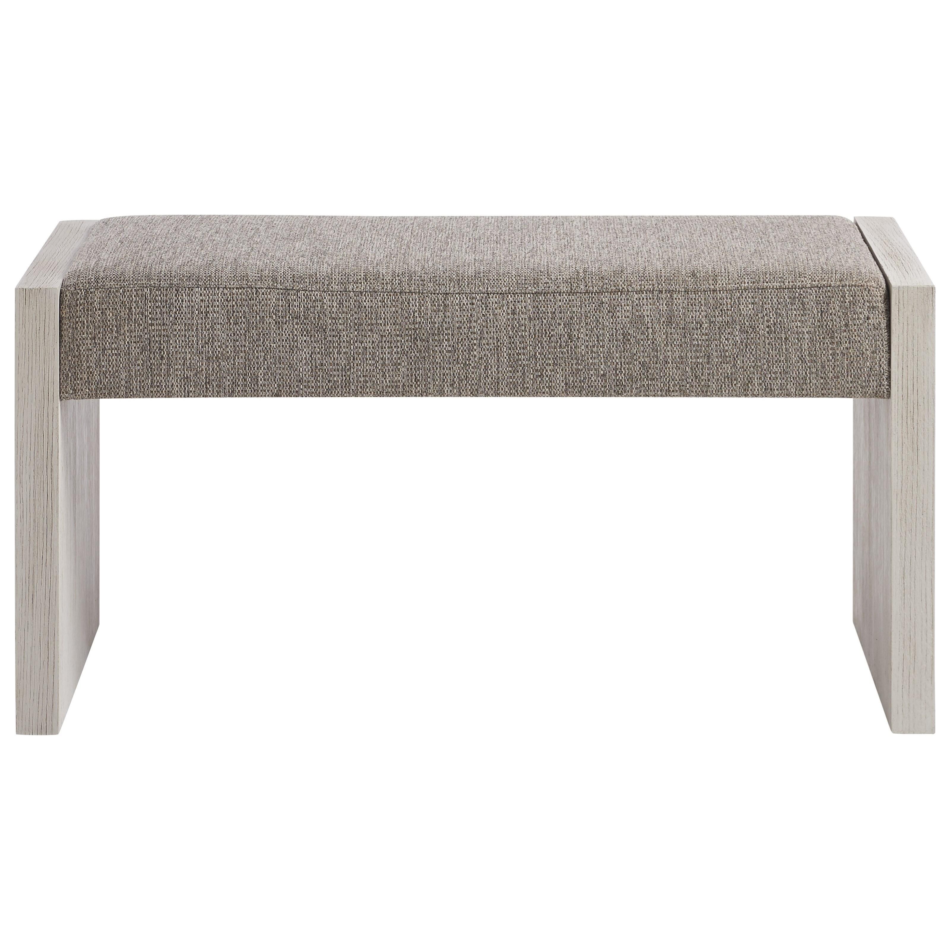 Smartstuff Modern Spirit 8361075 Contemporary Upholstered Bed Bench Hudson S Furniture Upholstered Benches