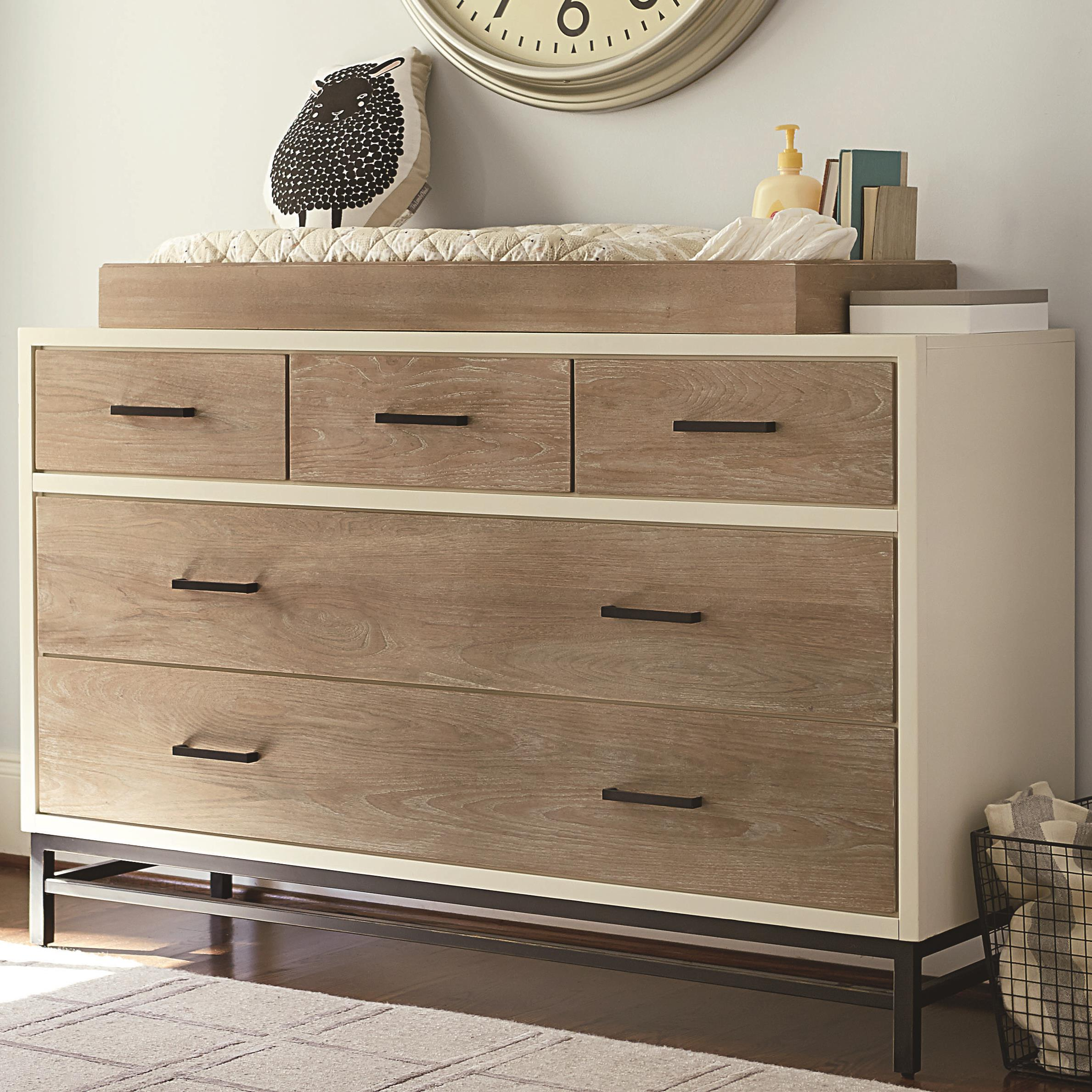 Smartstuff #myRoom Dresser with Changing Station - Item Number: 5321002+200