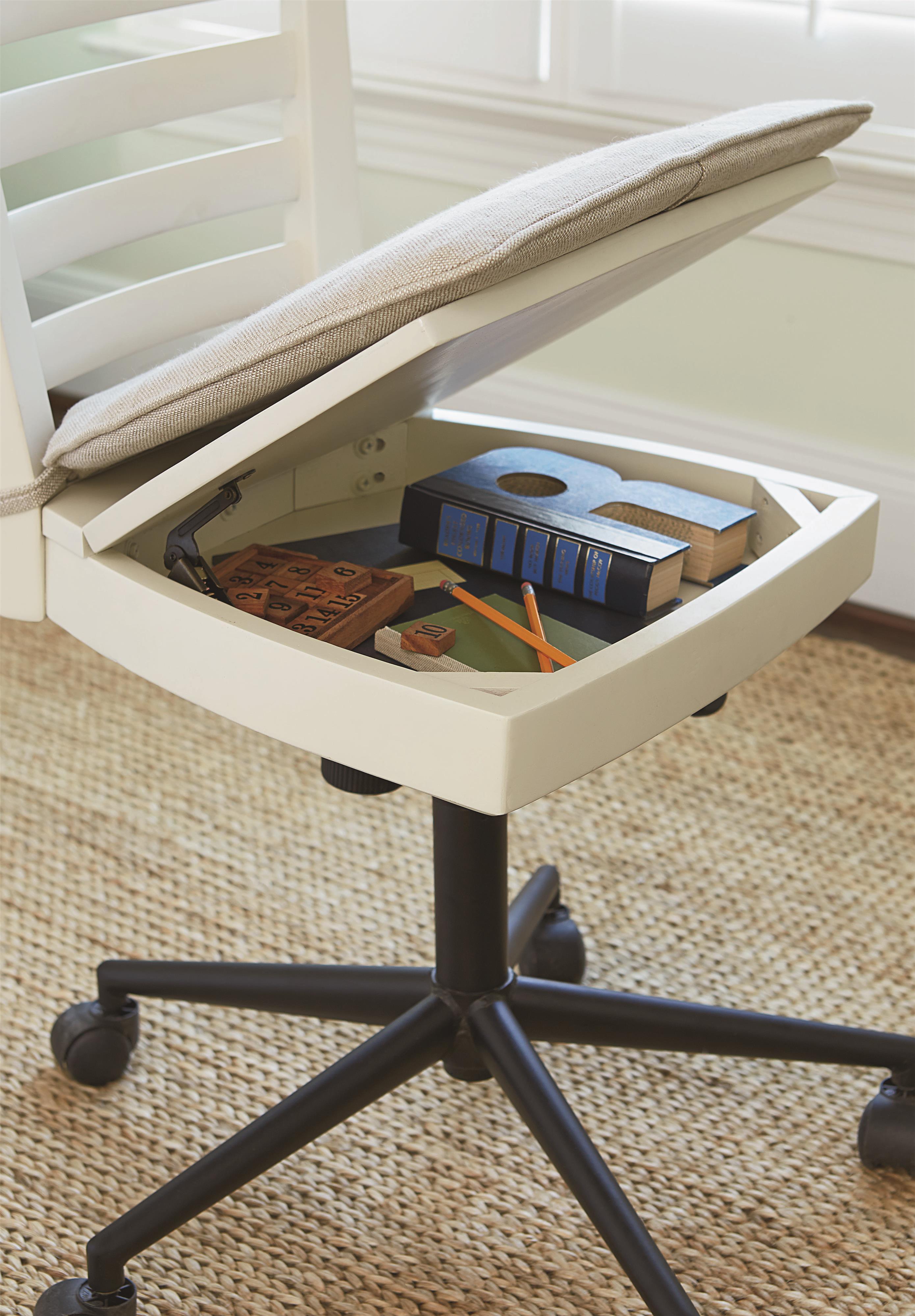 Smartstuff MyRoom Swivel Desk Chair With Lift Lid Seat