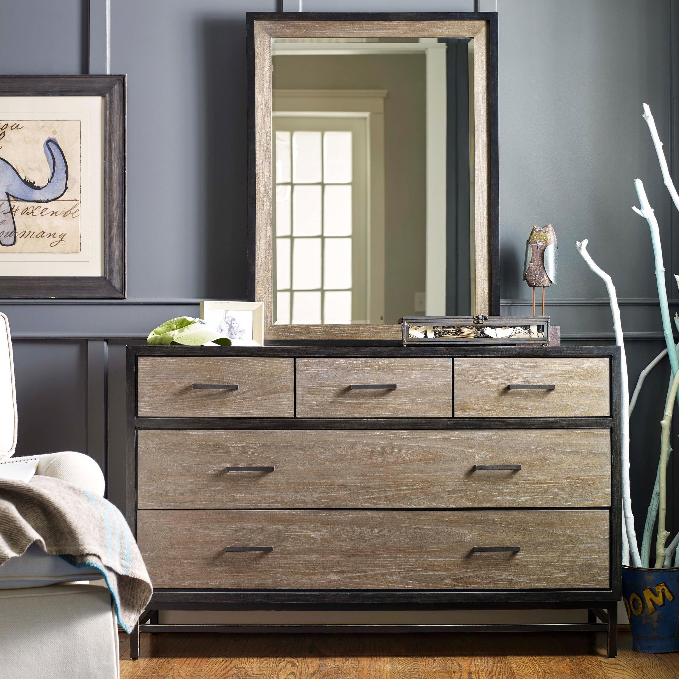Smartstuff #myRoom Dresser and Mirror Set - Item Number: 5322002+32
