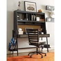 Smartstuff #myRoom Metal Frame Desk with Hutch and Corkboard Panel