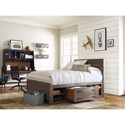 Smartstuff #myRoom Twin Reading Bed with Underbed Storage