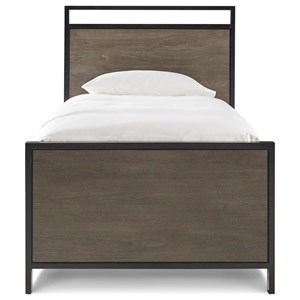 Morris Home Furnishings Torrance Torrance Twin Panel Bed