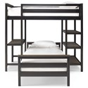 Smartstuff #myRoom Twin Metal Loft Bunk Bed - Item Number: 5322630