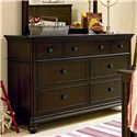 Morris Home Furnishings Pine Valley Pine Valley Dresser - Item Number: 2391002