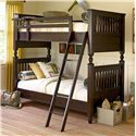 Smartstuff Paula Deen - Guys Twin Bunk Bed with Rail Post Design - Bunk Bed Shown May Not Represent Size Indicated