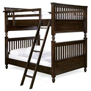 Morris Home Furnishings Pine Valley Pine Valley Full Bunk Bed