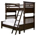 Smartstuff Paula Deen - Guys Twin/Full Bunk Bed - Item Number: 2391590