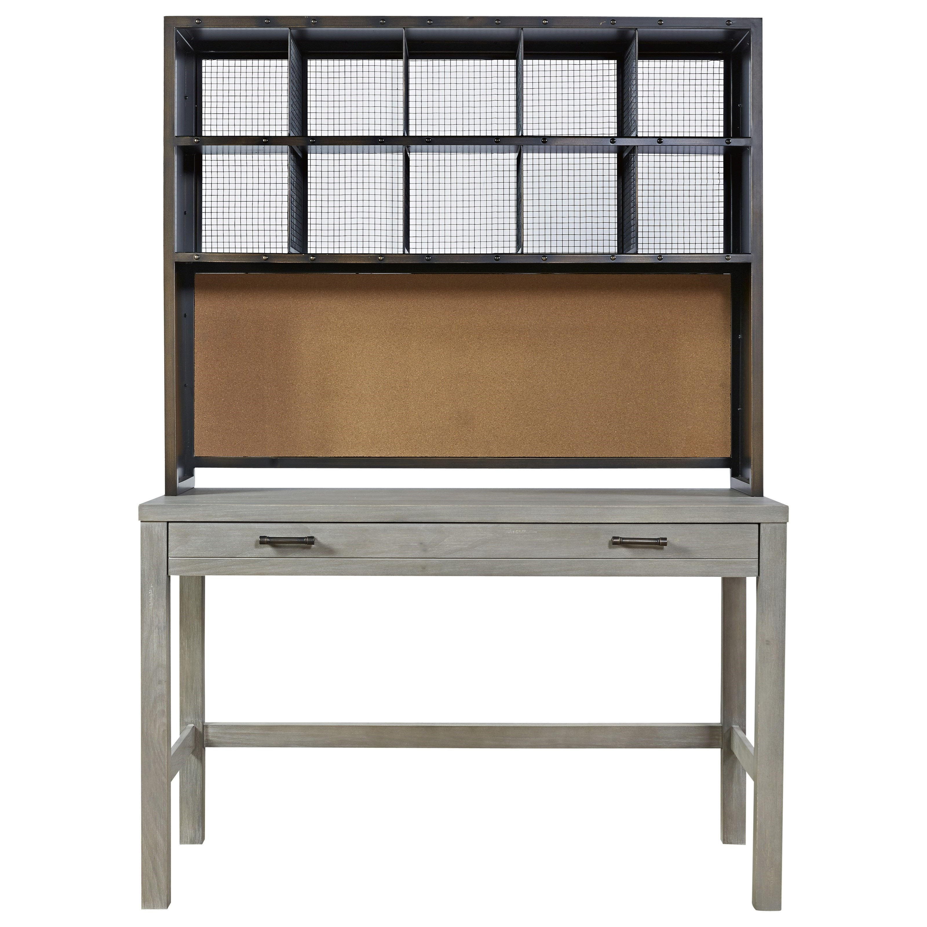Scrimmage Desk and Hutch  by Smartstuff at Jacksonville Furniture Mart