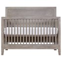 Smartstuff Scrimmage Convertible Crib with Toddler Rail - Item Number: 7371310+05