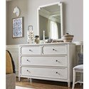 Smartstuff Serendipity Dresser and Mirror Combo - Item Number: 7381002+030