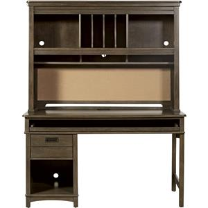 Morris Home Furnishings Varsity Desk with Hutch