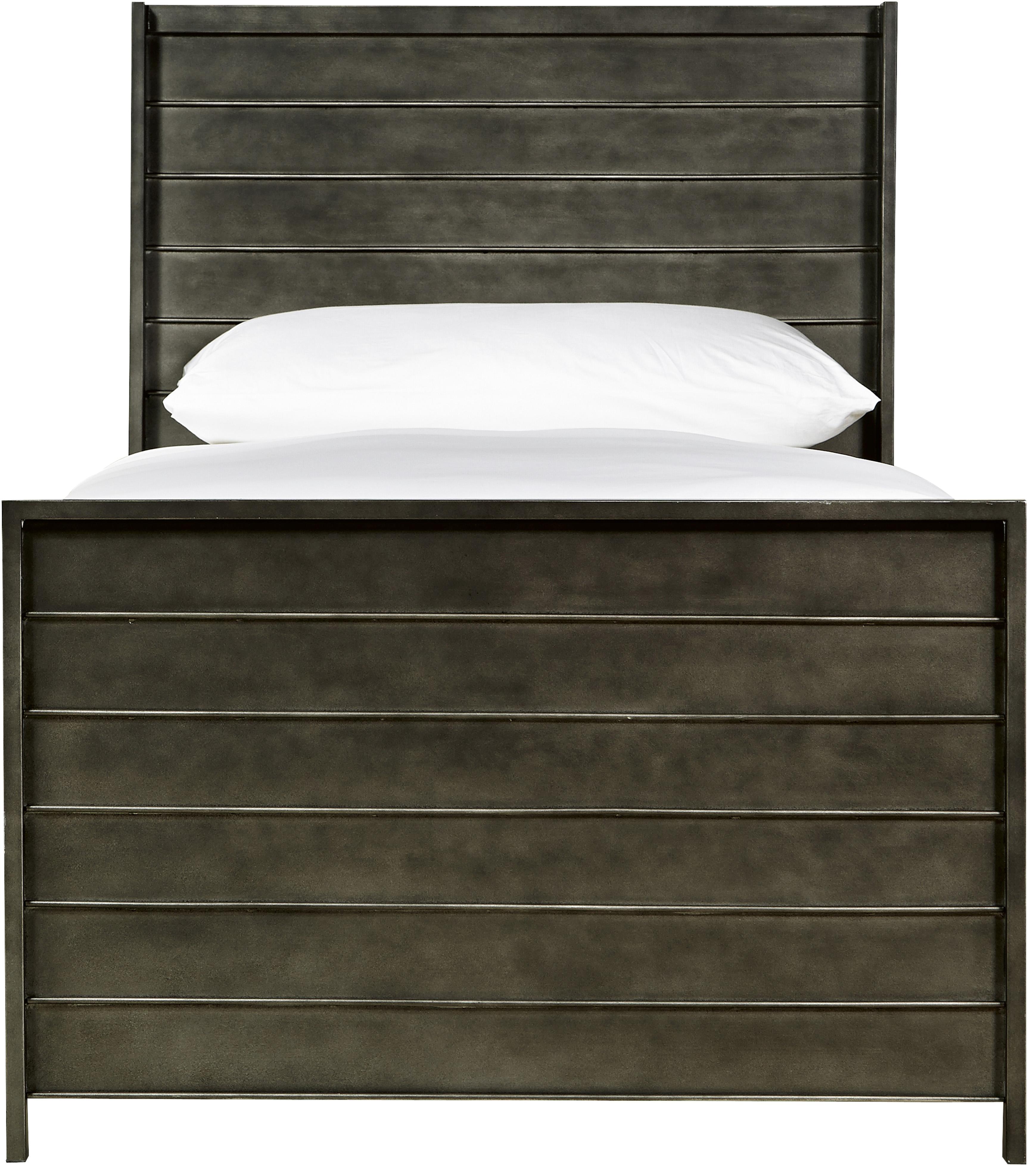 Smartstuff Varsity Twin Metal Panel Bed - Item Number: 5351036