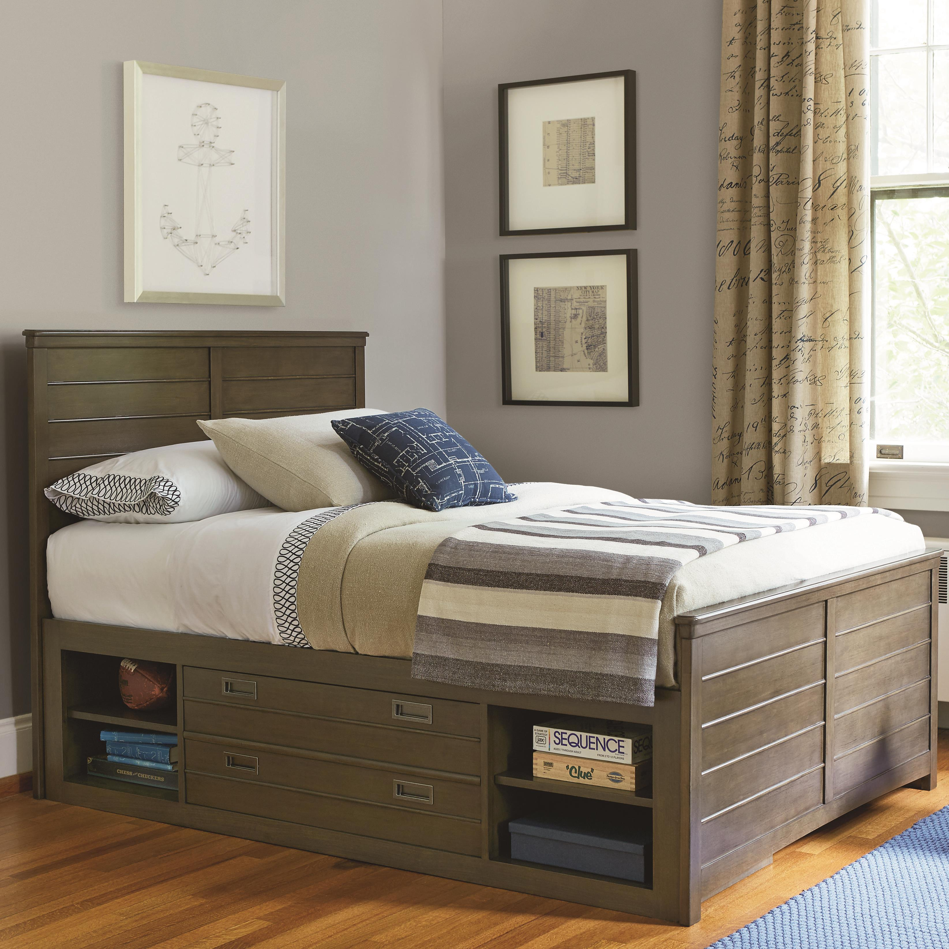 Smartstuff Varsity Full Reading Bed - Item Number: 5351040+61