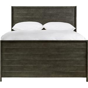 Morris Home Furnishings Varsity Full Metal Panel Bed