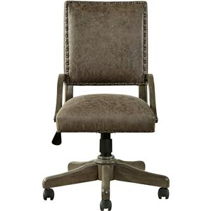 Morris Home Furnishings Varsity Swivel Desk Chair