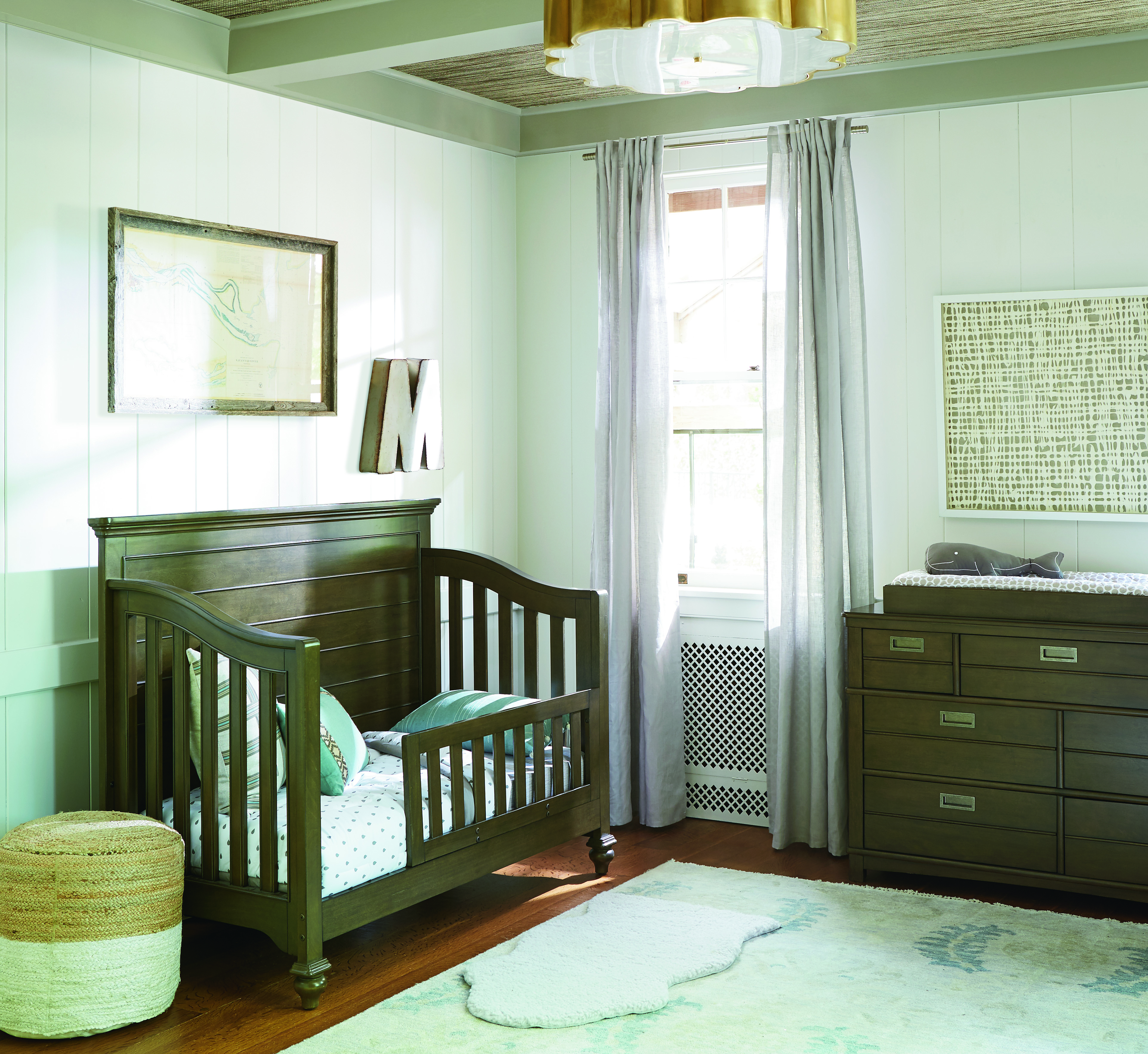 Smartstuff Varsity Convertible Crib With Toddler Rail