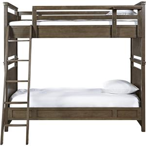 Universal Kids Smartstuff Varsity Twin All American Bunk Bed