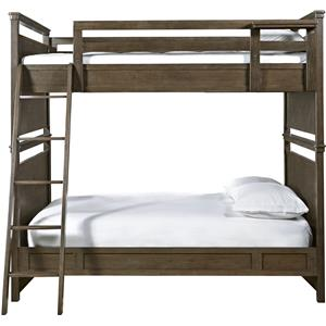 Morris Home Furnishings Varsity Full All American Bunk Bed
