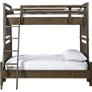 Morris Home Furnishings Varsity Twin Over Full All American Bunk Bed