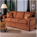 Smith Brothers 165 Stationary Sofa - Item Number: 165 S