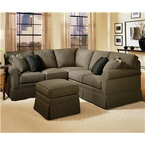 Smith Brothers 165 Stationary Sectional