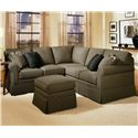 Smith Brothers 165 Stationary Sectional - Item Number: 165 Sect