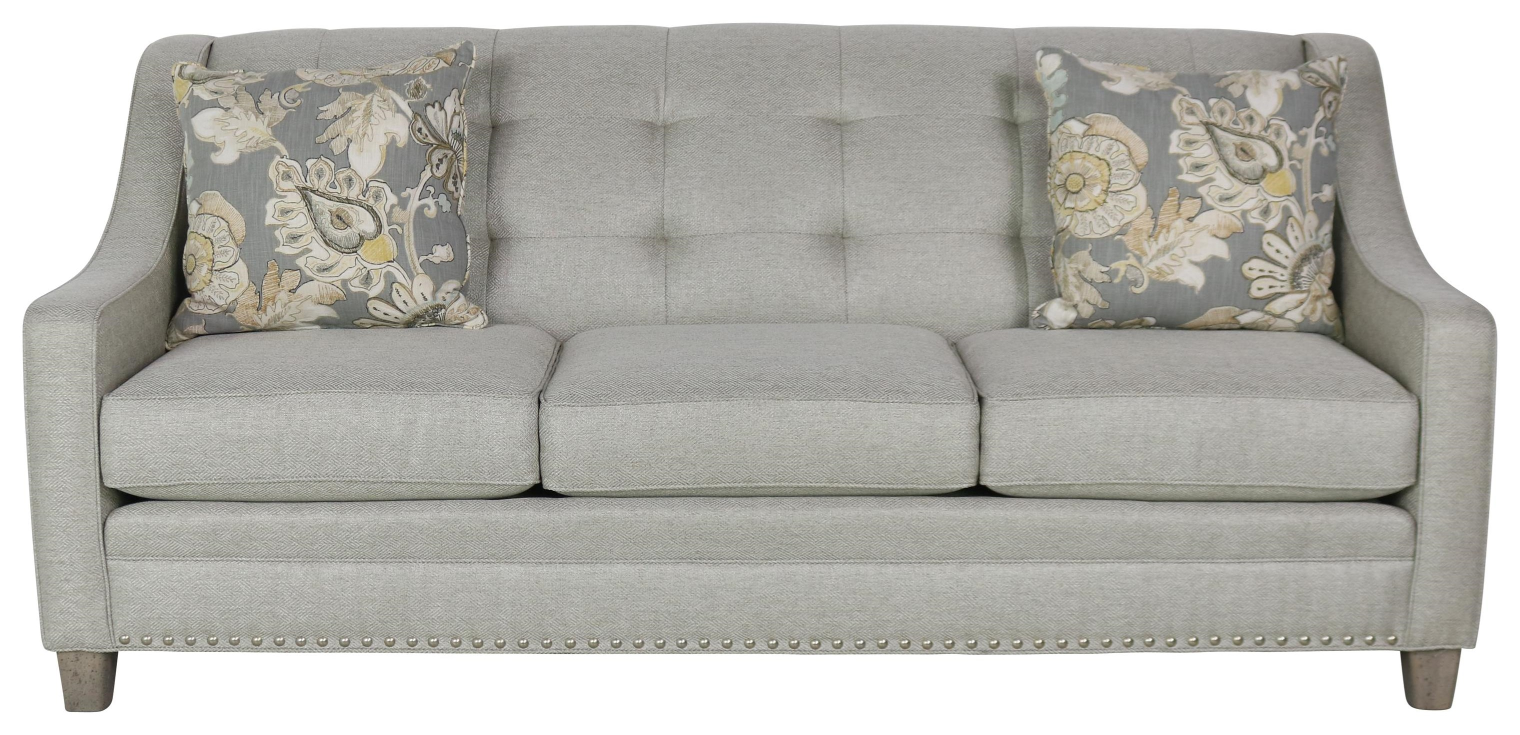 203  Transitional Sofa by Smith Brothers at Sprintz Furniture