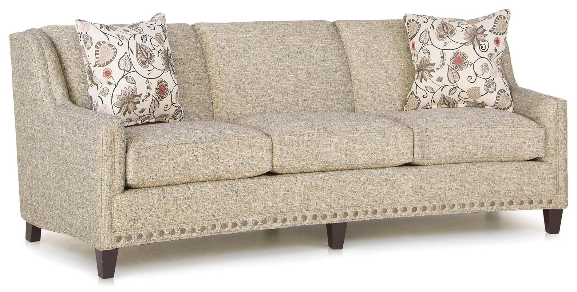 Fishers Sofa by Smith Brothers at Crowley Furniture & Mattress