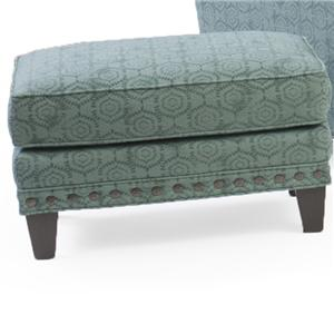 Smith Brothers 227 Upholstered Ottoman