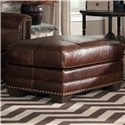 Smith Brothers 229 Chair & Ottoman Combination with Block Feet