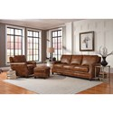 Peter Lorentz 231 Traditional Sofa with Nailhead Trim