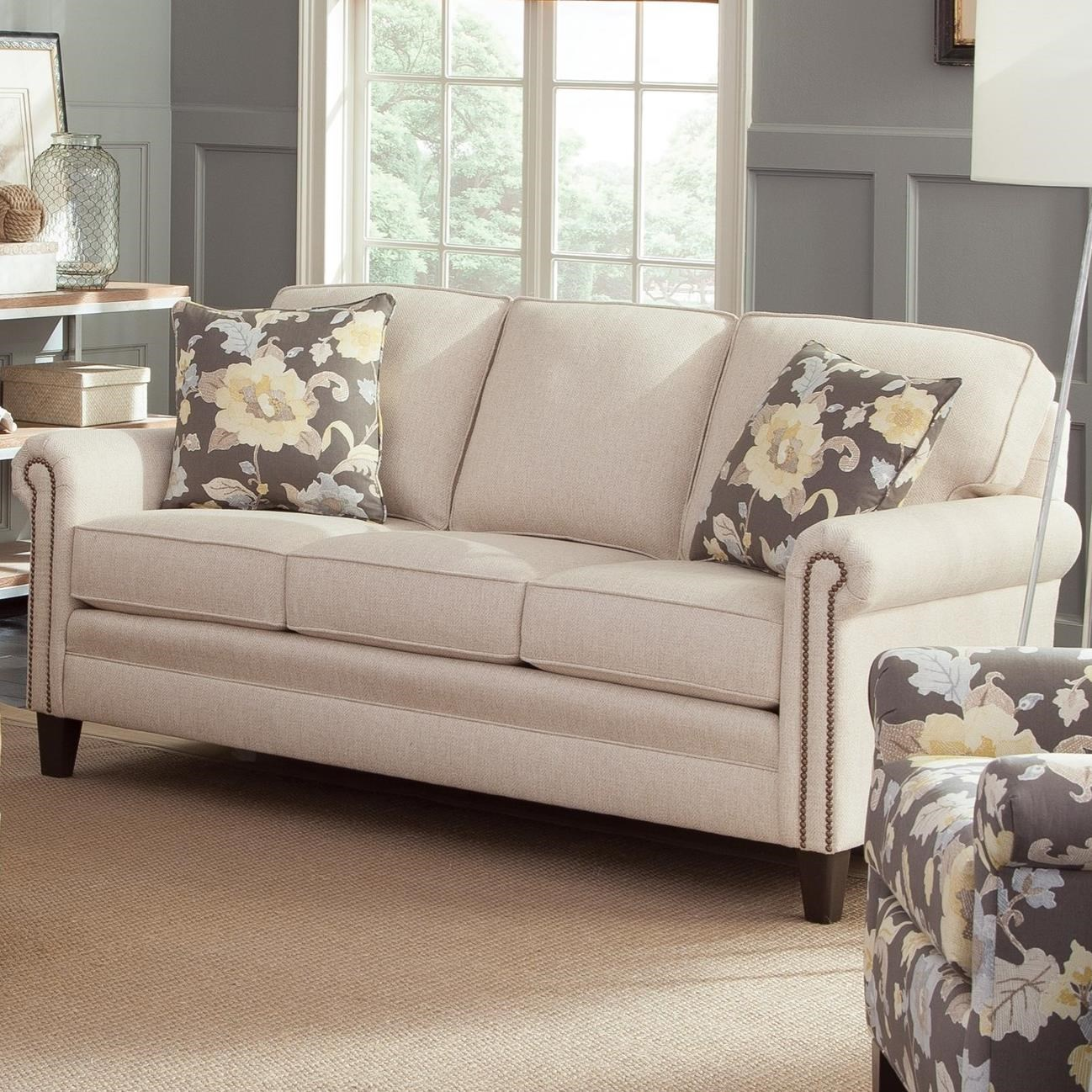 234 Mid-Size Sofa by Smith Brothers at Gill Brothers Furniture