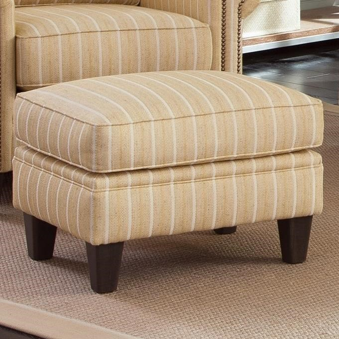 234 Ottoman by Smith Brothers at Mueller Furniture