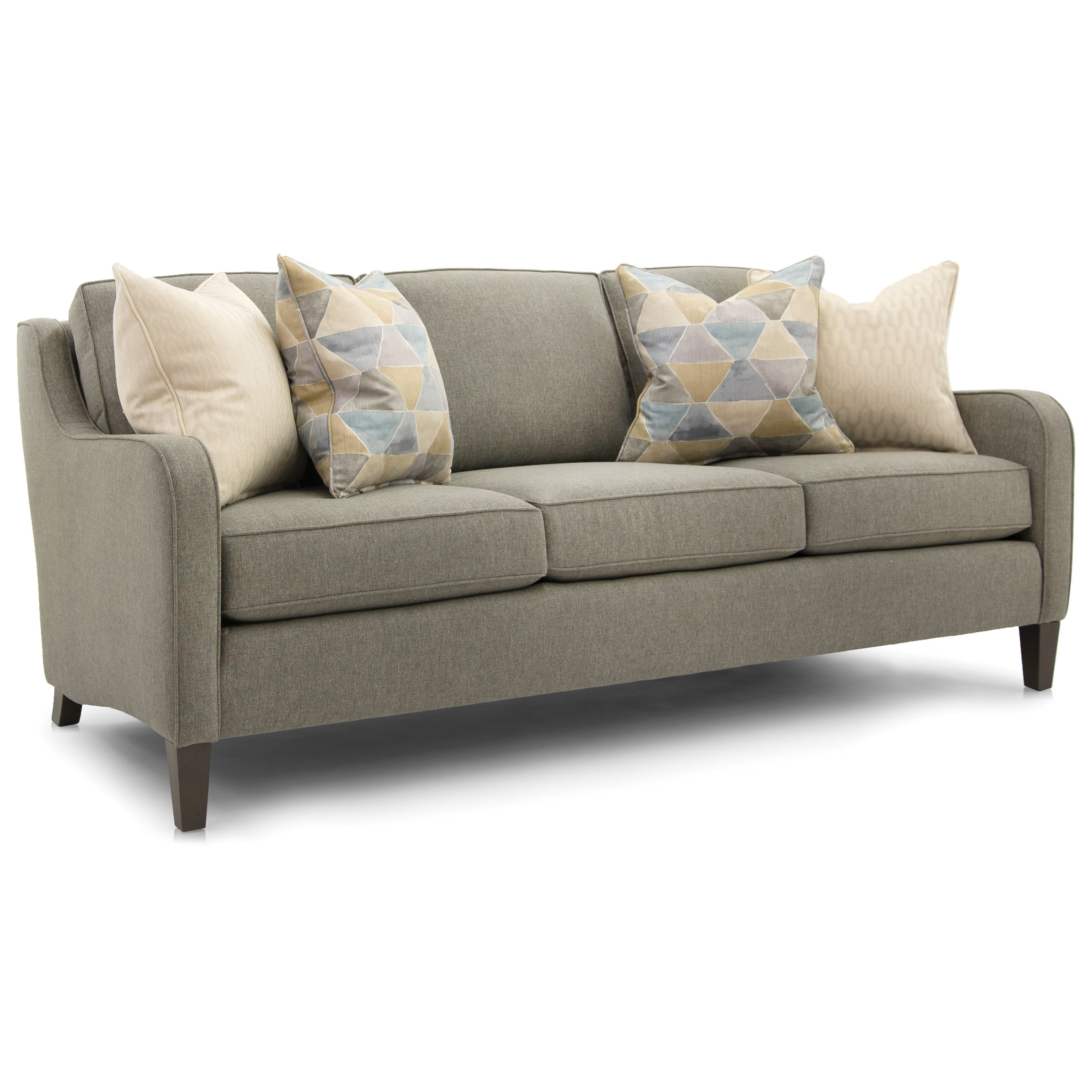 252 Full Size Sofa by Smith Brothers at Gill Brothers Furniture