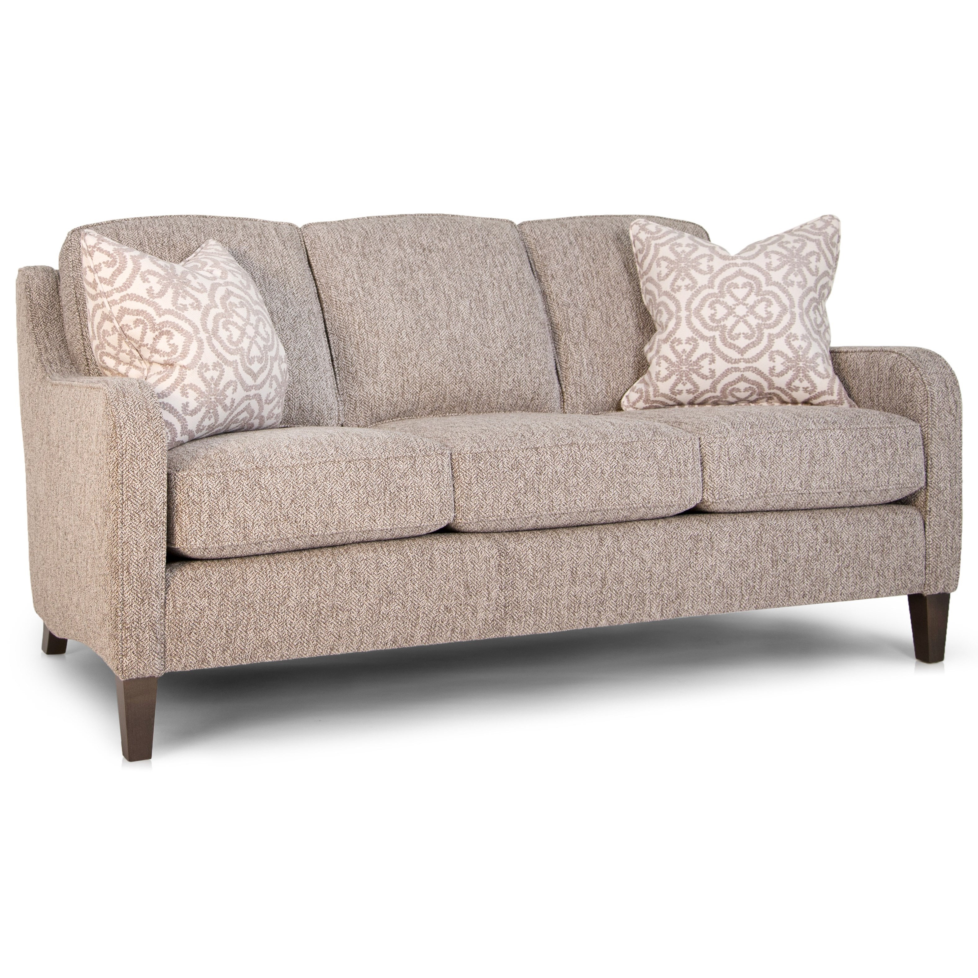 252 Mid Size Sofa by Smith Brothers at Mueller Furniture