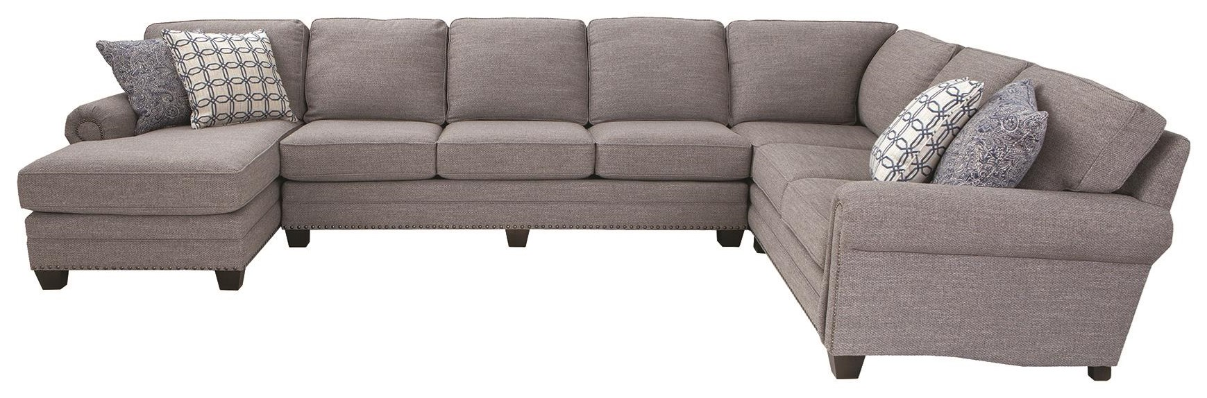 253 3 Piece Sectional by Smith Brothers at Darvin Furniture