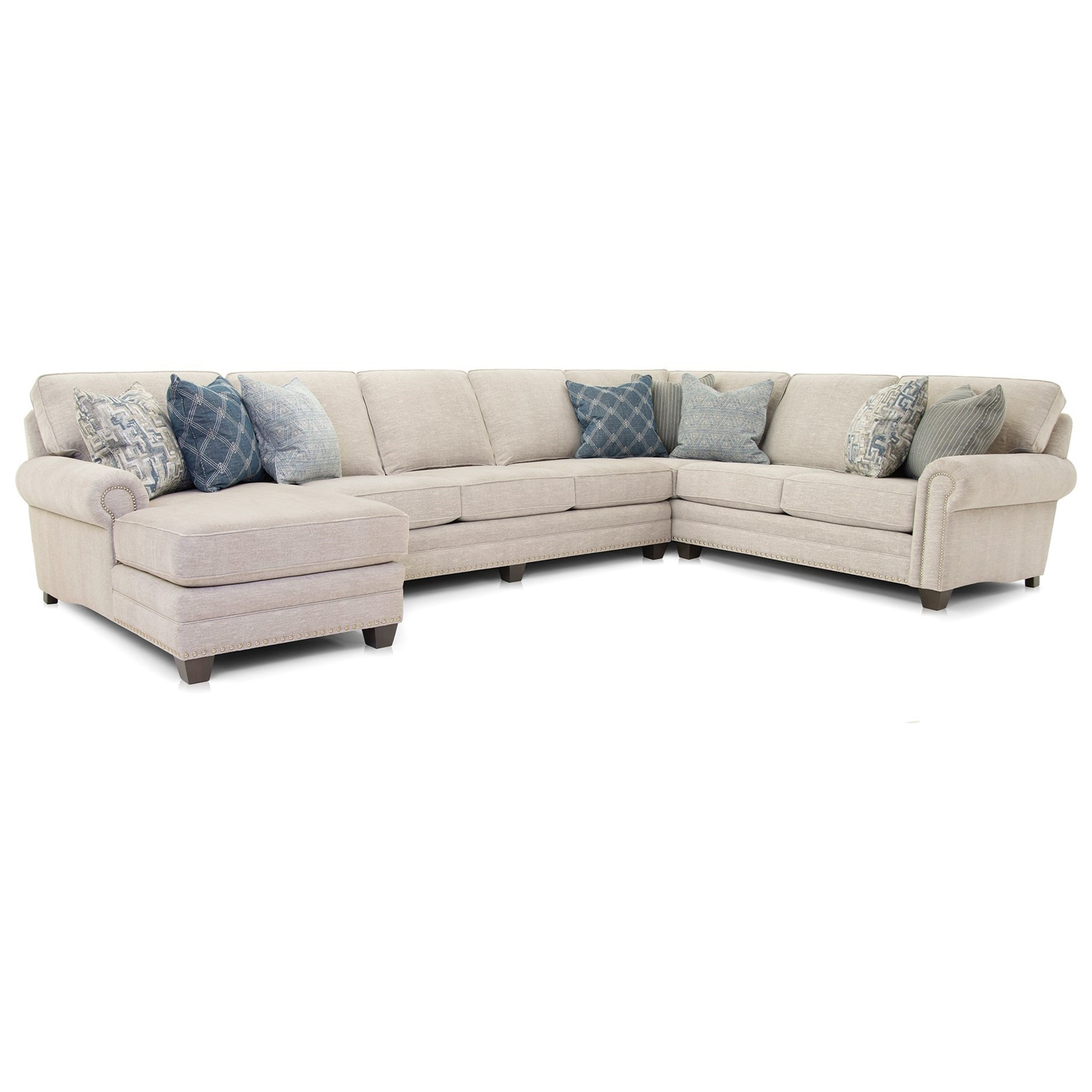 253 Sectional by Smith Brothers at Pilgrim Furniture City