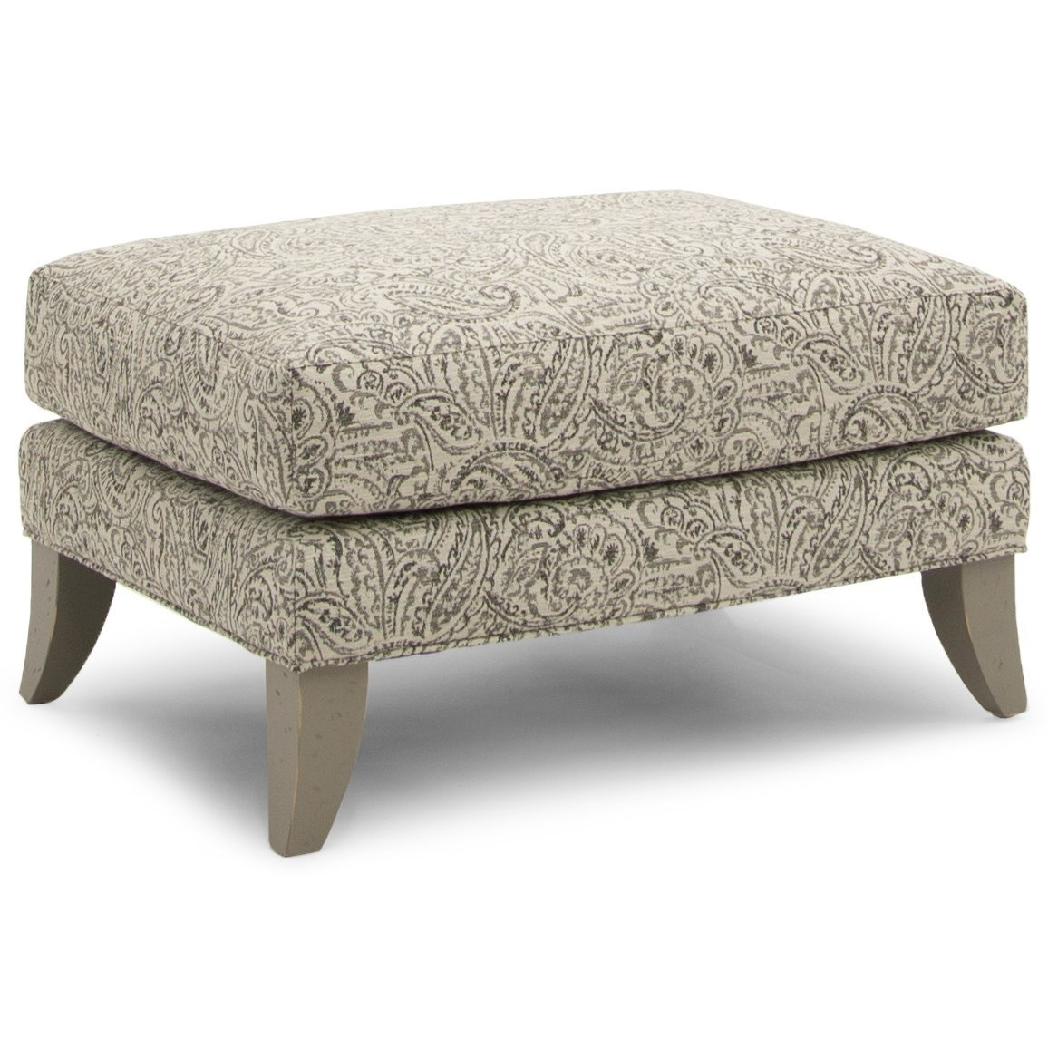 256 Ottoman by Smith Brothers at Mueller Furniture