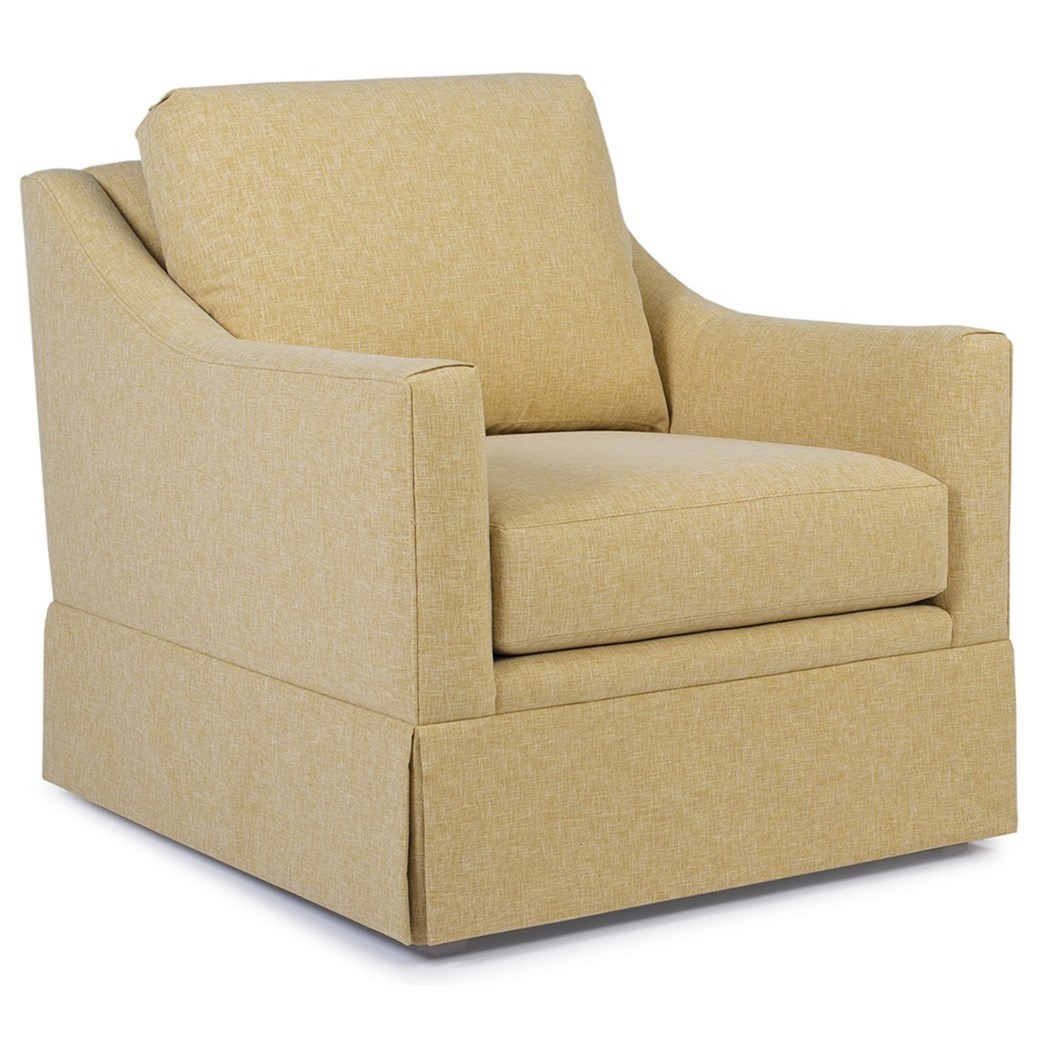 260 Swivel Chair  by Smith Brothers at Mueller Furniture