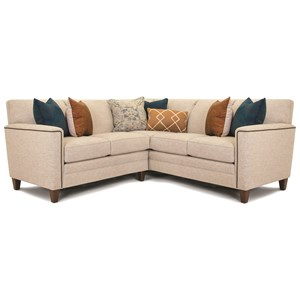 Customizable 2-Piece Sectional