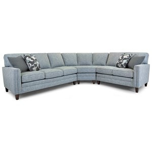 Customizable 3-Piece Sectional