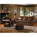 Smith Brothers 309 Casual and Traditional Styled Sofa