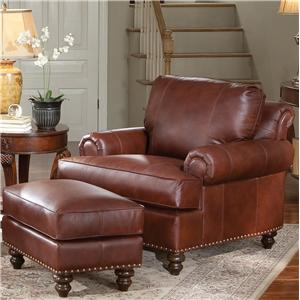 Smith Brothers 324 Chair & Ottoman