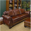 Smith Brothers 336 Upholstered Stationary Sofa - Item Number: 336-A